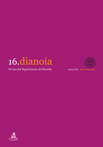 Dianoia n. 16/2011