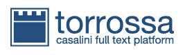 """Le versioni digitali di tutti i nostri volumi sono acquistabili presso <a href=""""http://www.torrossa.com"""">Torrossa</a> ."""