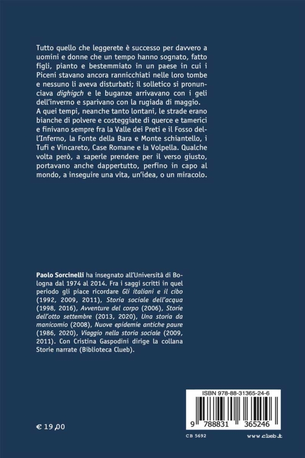 Gli occhi di Ciola, di Paolo Sorcinelli